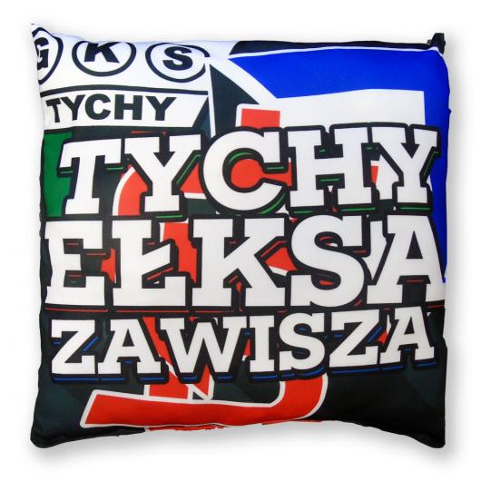 """Poduszka """"Tychy-Zetka-eŁKSa"""""""