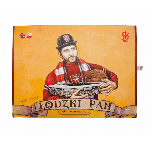 "Gra planszowa ""Łódzki Pan"""