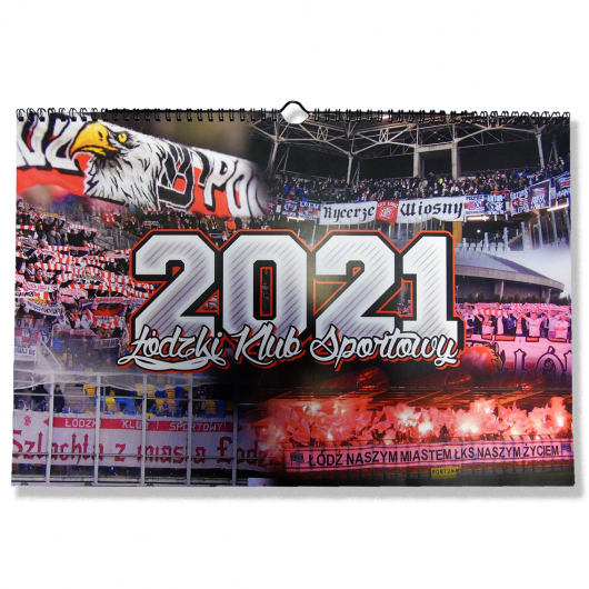 Kalendarz ŁKS 2021