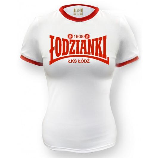 """Koszulka damska """"Łodzianki""""..."""