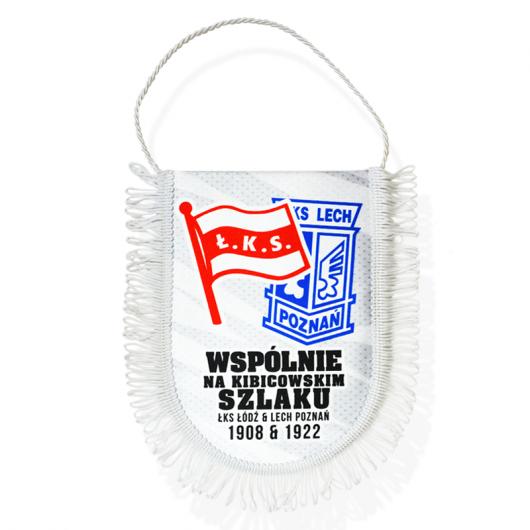"Proporczyk Mały ""ŁKS&Lech"""
