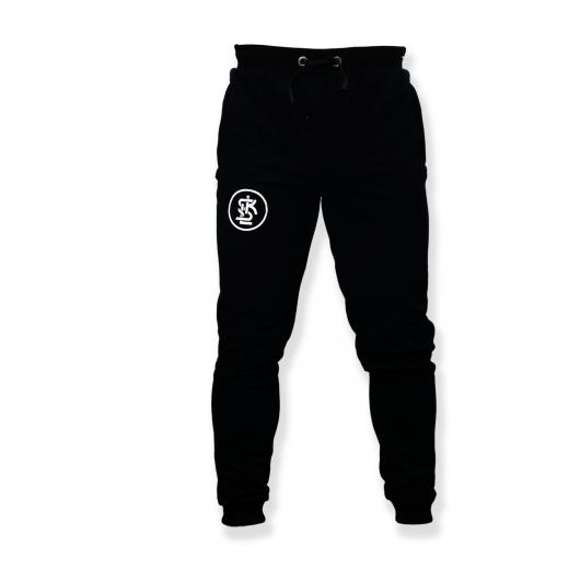 """Spodnie dresowe czarne """"08"""""""
