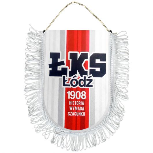 """Proporczyk ŁKS """"ŁKS ŁÓDŹ"""""""