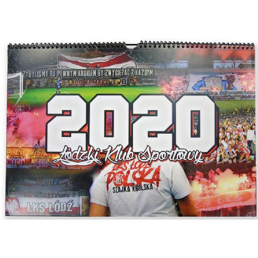 """Kalendarz 2020 """"ŁKS"""""""