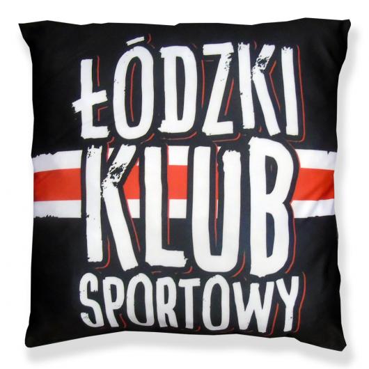 """Poduszka Czarna """"Łódzki..."""